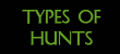types of hunts